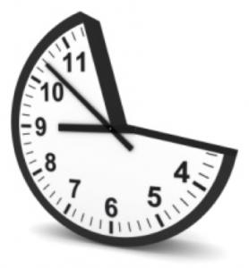 partial clock